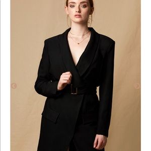 Dresses & Skirts - Blazer Black Dress
